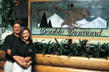 Dave and Shari the Double Diamond Owners